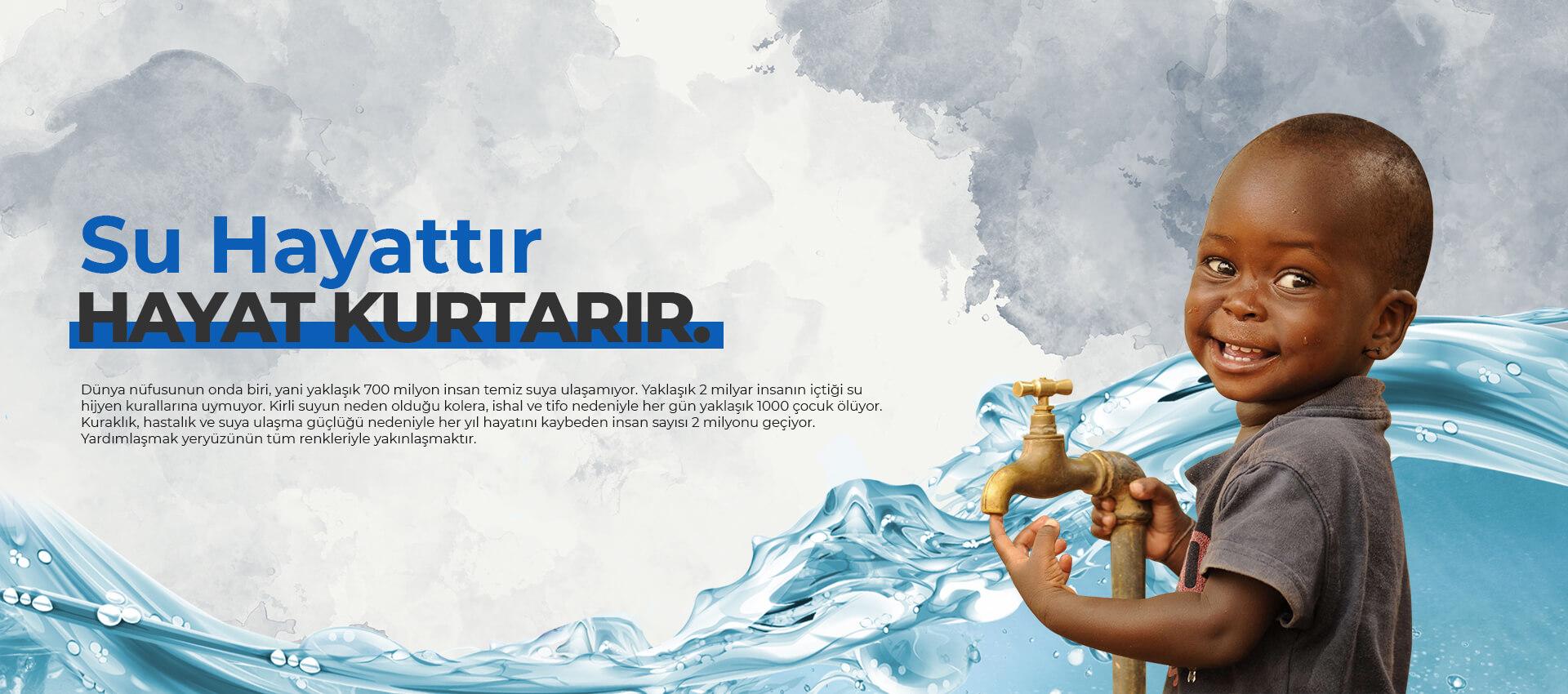Umut Yolculuğu Derneği su kuyusu faaliyetleri hakkında