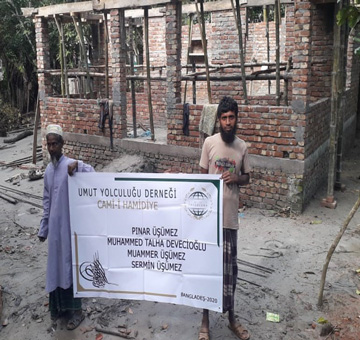 Hamidiyye Camii Yapım Projesi
